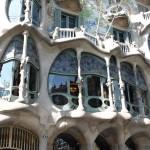 Tribüne des Hauses Casa Batlló