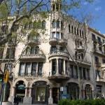 Haus Casa Lleó i Morera von L. Doménech i Montaner, im sog. Häuserblock der Zwietracht