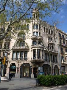 Haus Casa Lleó i Morera von L. Doménech i Montaner