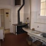 Küche im Wohnhaus des Hauses La Pedrera