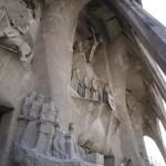Fachada de la Pasión de la Sagrada Familia