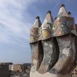Schornsteine der Casa Batlló