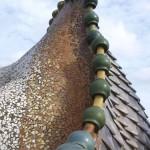 Dach des Hauses Casa Batlló