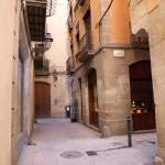 Gasse im Viertel La Ribera