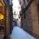 Strasse im Viertel La Ribera