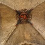 Einer der grossen Schlusssteine von Santa Maria del Mar