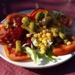 Der typisch mediterrane Salat