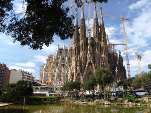 Gaudí-Kirche Sagrada Familia in Barcelona