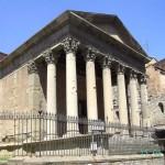 Römischer Tempel in Vic