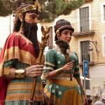Gigantes, una tradición muy apreciada en Cataluña
