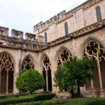 Kreuzgang im Kloster Santes Creus