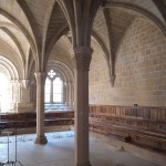 Kapitelsaal in Santes Creus