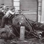 Der Spanische Bügerkrieg 1936 - 1939: Kampf in Barcelonas Strassen
