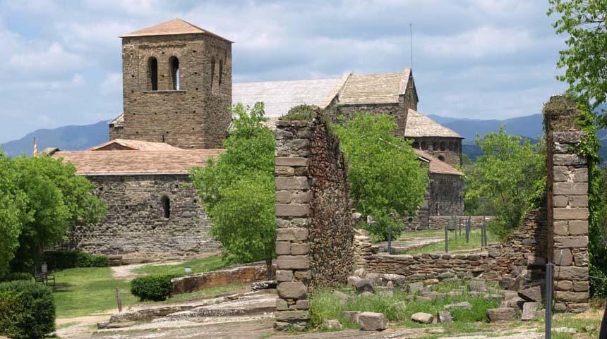 Romanische Benediktinerabtei Sant Pere de Caserres