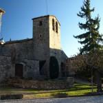 Romanische Kirche im Dörfchen Tavertet