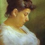Bild der Mutter des Künstlers