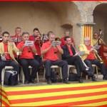 Blaskapelle für den Sardana-Tanz