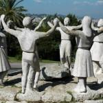 Sardana-Denkmal in Barcelona