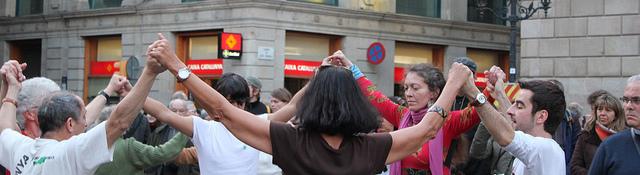"""Kataloniens Volkstanz """"Sardana"""""""