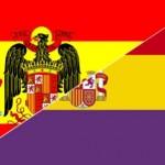 Die beiden Fahnen Spaniens