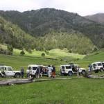 Auf der Fahrt nach Andorra