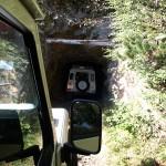 Fahrt mit dem Land Rover in die Höhe