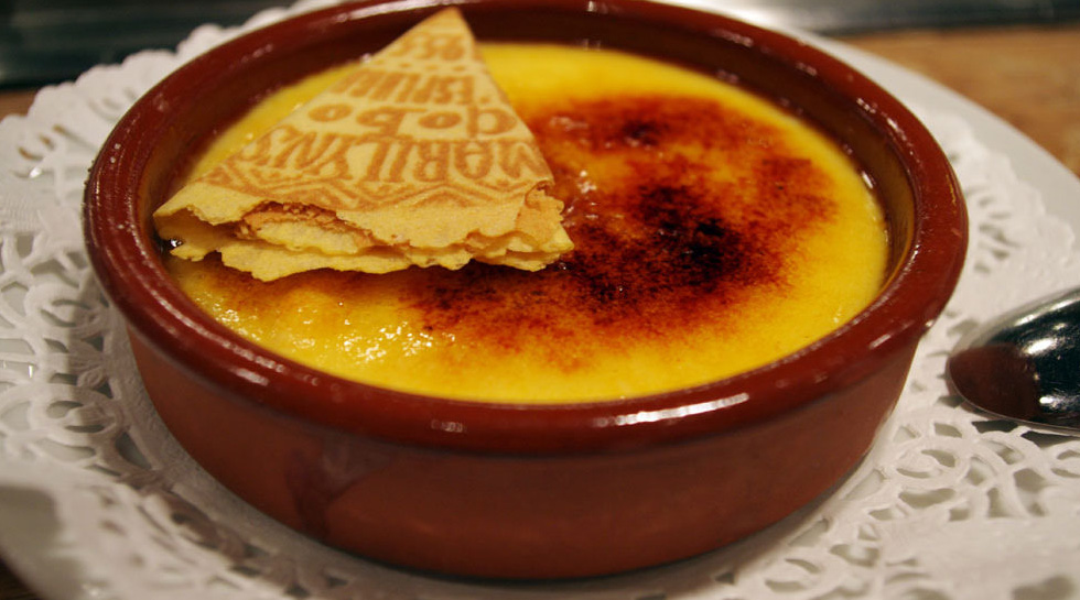 Crema Catalana, nationale Nachspeise Kataloniens