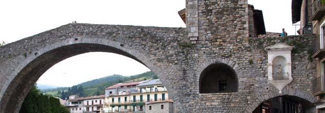 Romanische in Camprodon/Pyrenäen